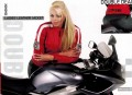 WOMEN SPORTS RIDING JACKET, COW LEATHER, CE PROTECTORS